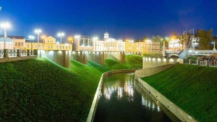 The Ushayka River Promenade
